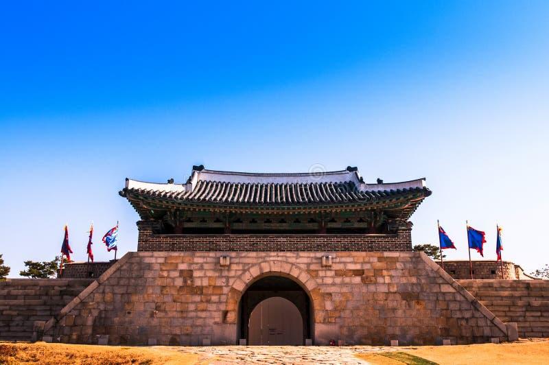 Крепость Сеул Hwaseong, Южная Корея стоковые изображения