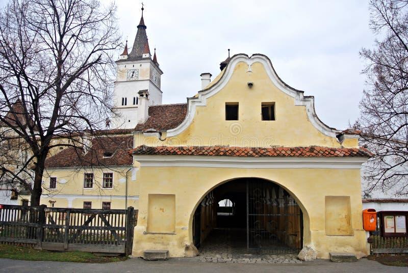 Крепость средневековая стоковые изображения rf