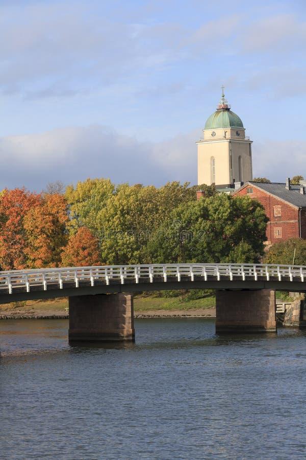Крепость Суоменлинна моря Хельсинки стоковые фото