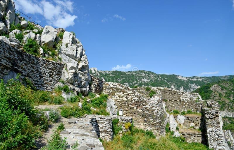 Крепость Assen в Болгарии стоковое фото rf