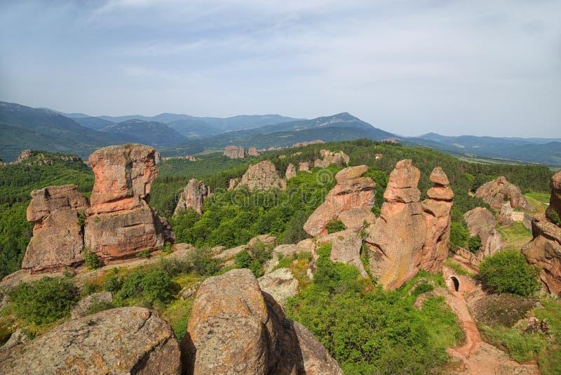 Крепость Belogradchik стоковое изображение rf