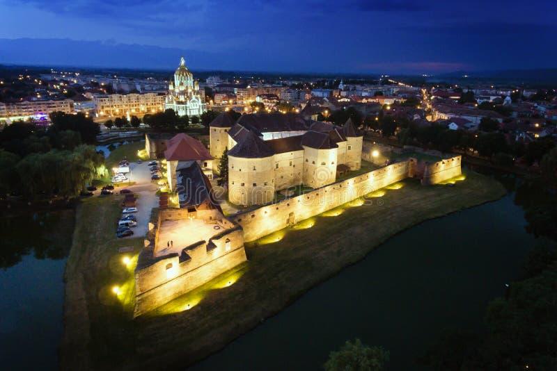 Крепость Brasov Трансильвания Румыния Fagaras стоковое изображение rf