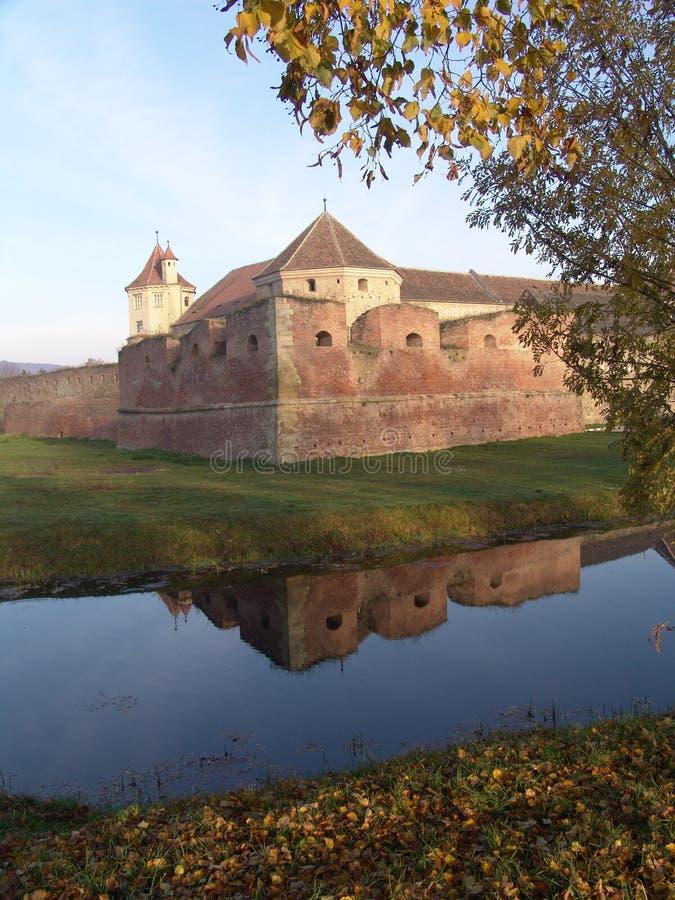 крепость fagaras стоковые фотографии rf