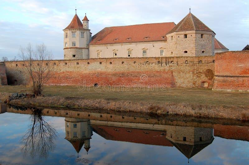 крепость fagaras стоковая фотография