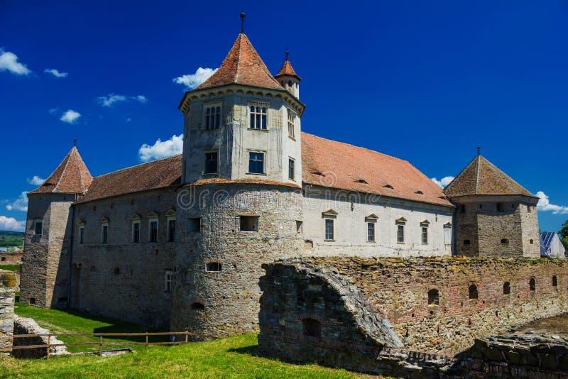 Крепость Fagaras стоковые изображения