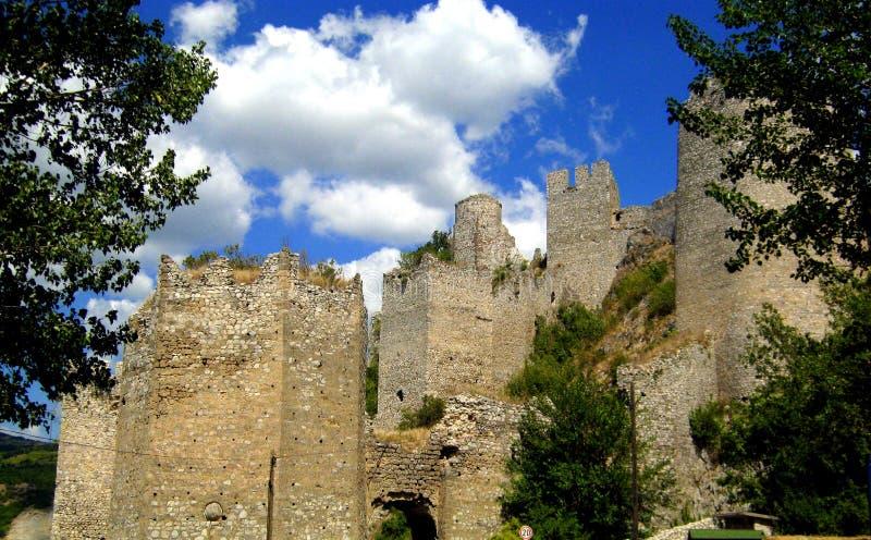 Крепость Golubac стоковая фотография