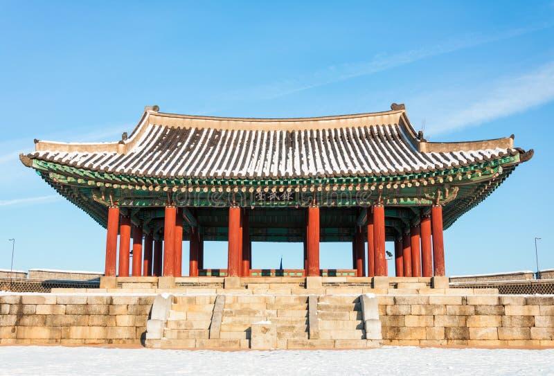 Крепость Hwaseong стоковые изображения rf