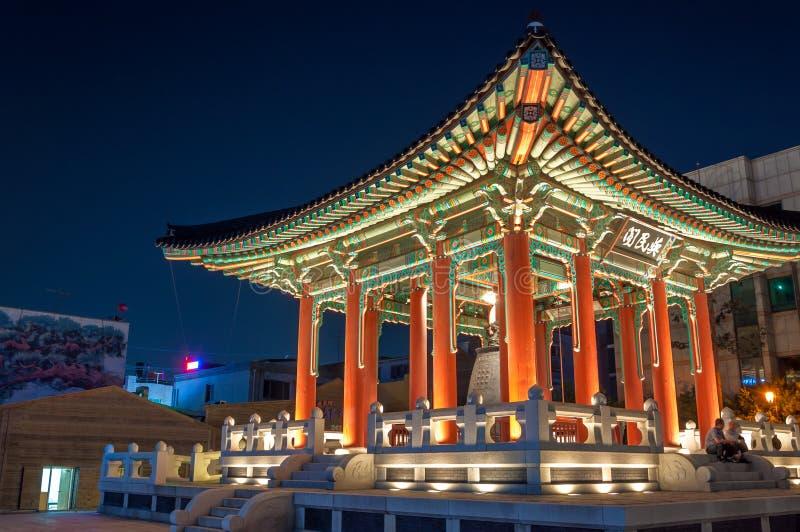 Крепость Hwaseong стоковое фото
