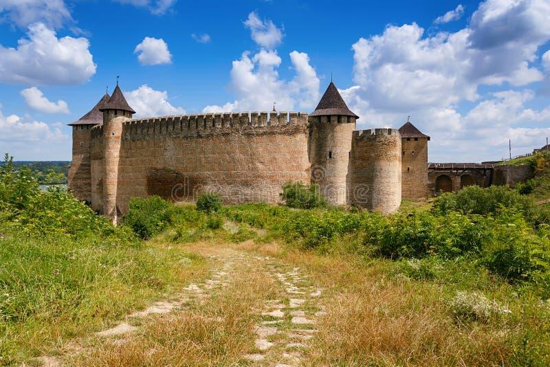 Download Крепость Khotyn, Украина стоковое фото. изображение насчитывающей антиквариаты - 40587902