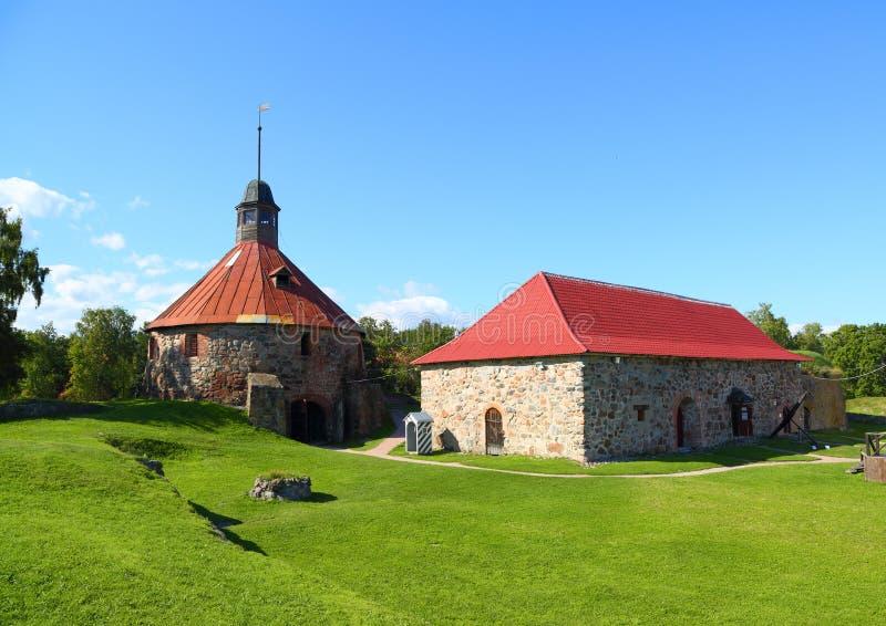 Крепость Korela в России стоковое изображение rf