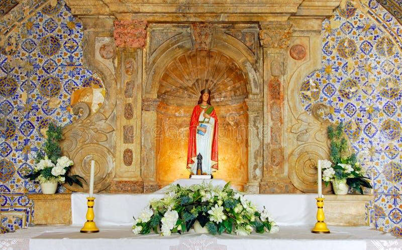 крепость lagos Португалия церков algarve стоковая фотография rf