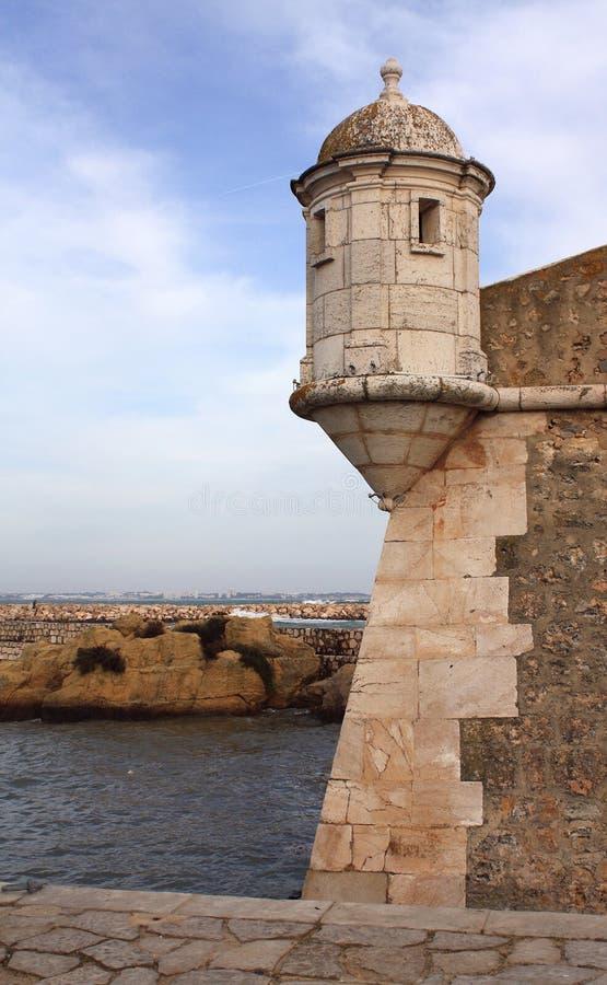крепость lagos Португалия стоковые изображения rf