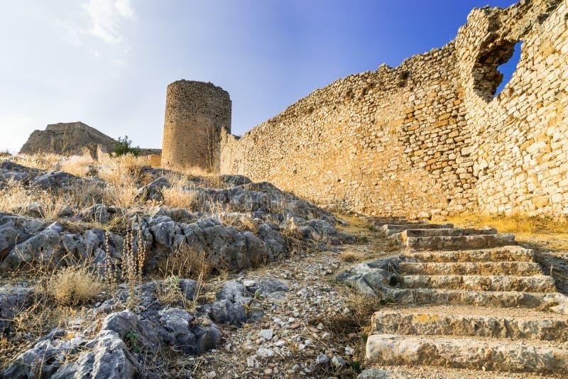 Крепость Larissa стоковые фотографии rf
