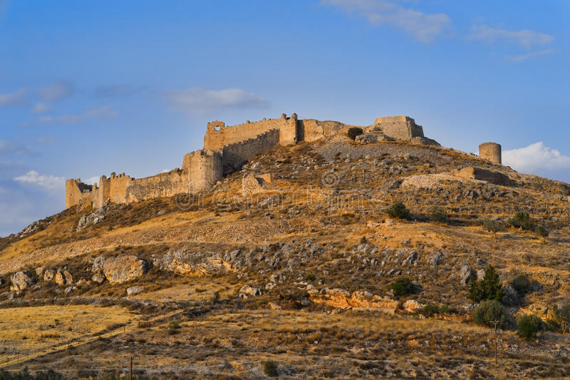 Крепость Larissa стоковая фотография