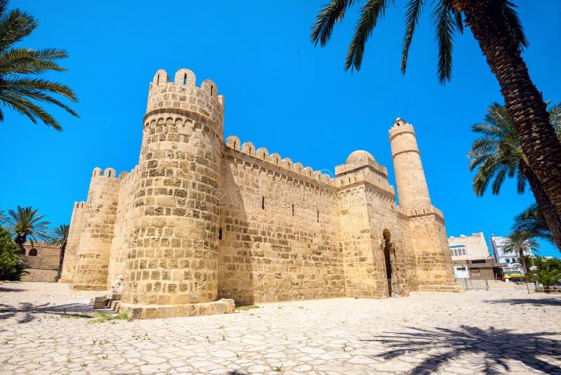 Крепость Ribat Medina в Sousse Тунис, Северная Африка стоковое фото rf