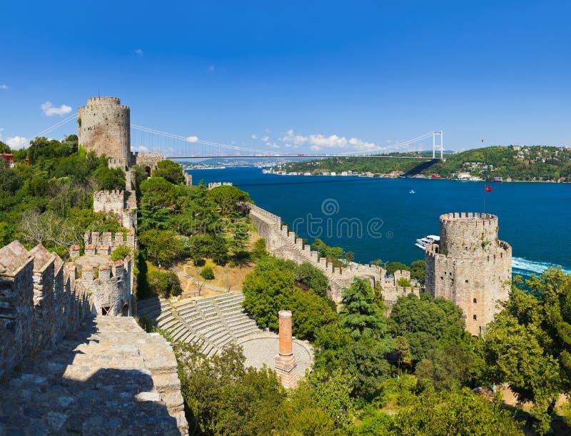 Download Крепость Rumeli на Стамбуле Турции Стоковое Фото - изображение насчитывающей канал, предохранение: 33736918