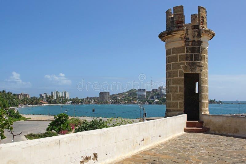 Download Крепость San Carlos Borromeo, Pampatar, Isla Маргарита Стоковое Фото - изображение насчитывающей форт, coast: 40581230