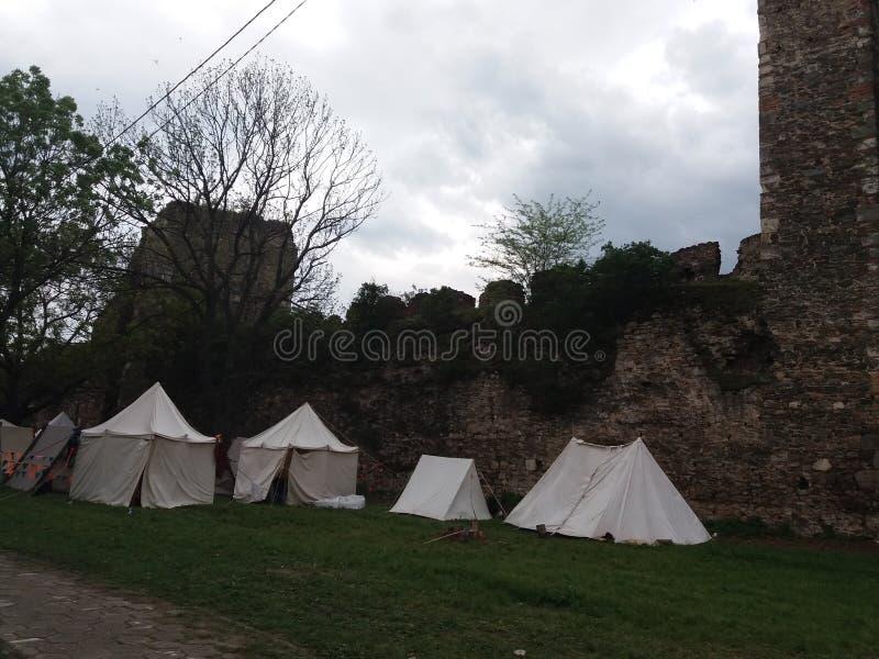 Крепость Smederevo стоковая фотография rf