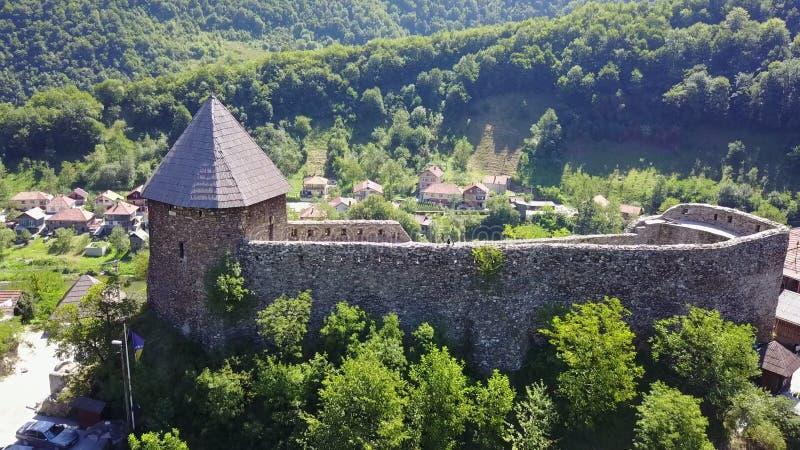 Крепость Vranduk стоковые фотографии rf