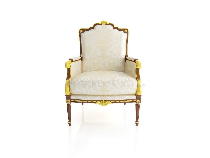кресло классическое стоковое фото