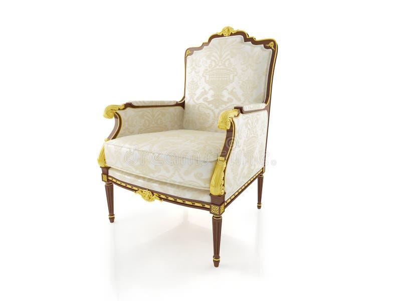 кресло классическое стоковое изображение rf