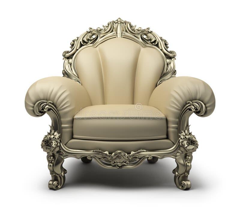 кресло роскошное иллюстрация вектора