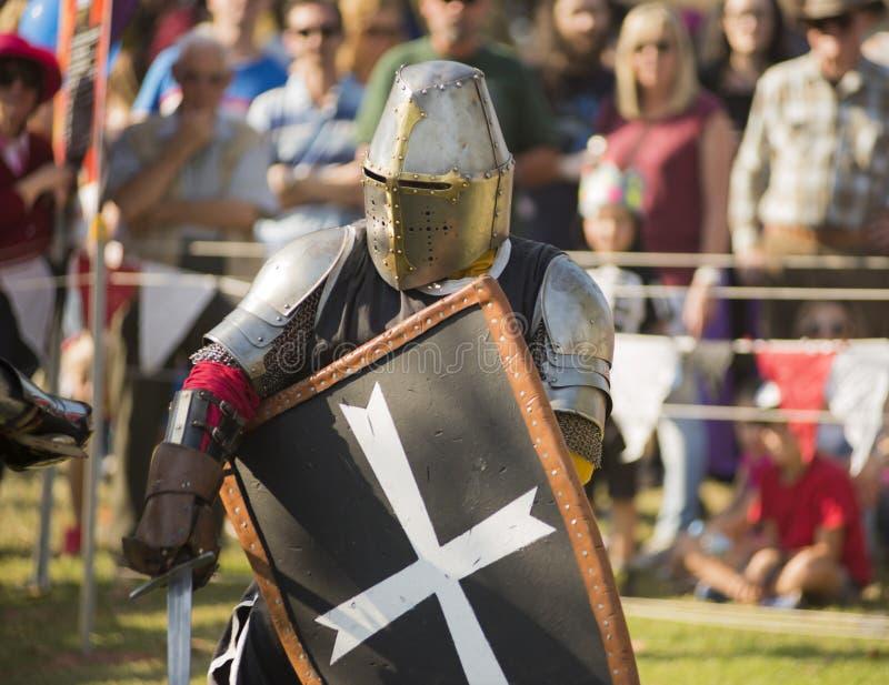 крестоносец стоковое изображение