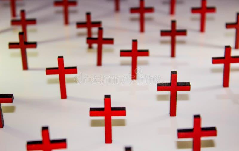 кресты стоковая фотография rf