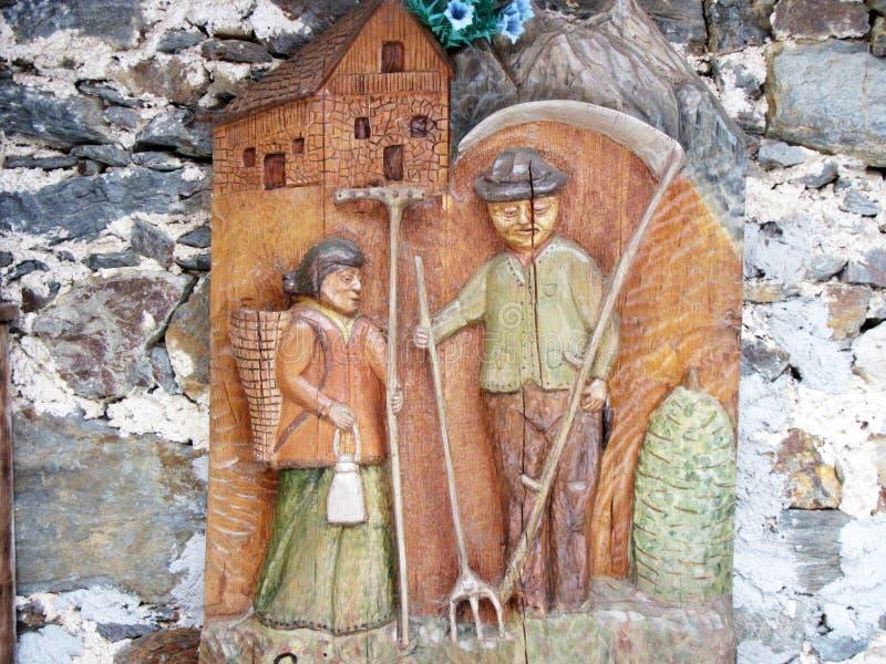 Крестьянское украшение стоковое изображение rf