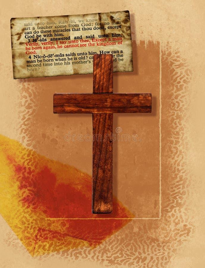 крест коллажа Стоковая Фотография RF