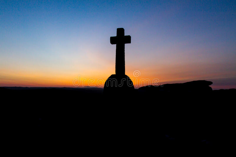 Крест мемориала Penney пещеры Ивлина Энтони стоковые изображения