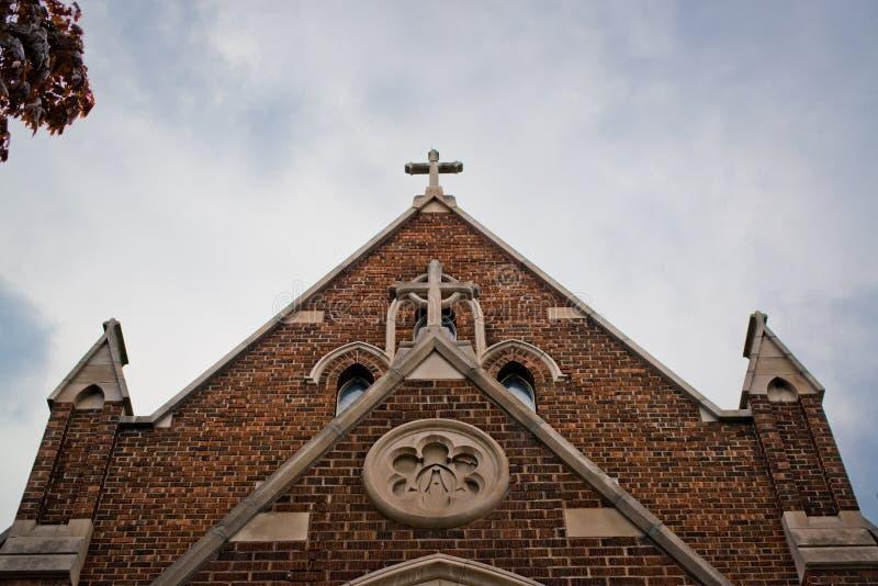 Download Крест на церков стоковое фото. изображение насчитывающей облака - 81804316