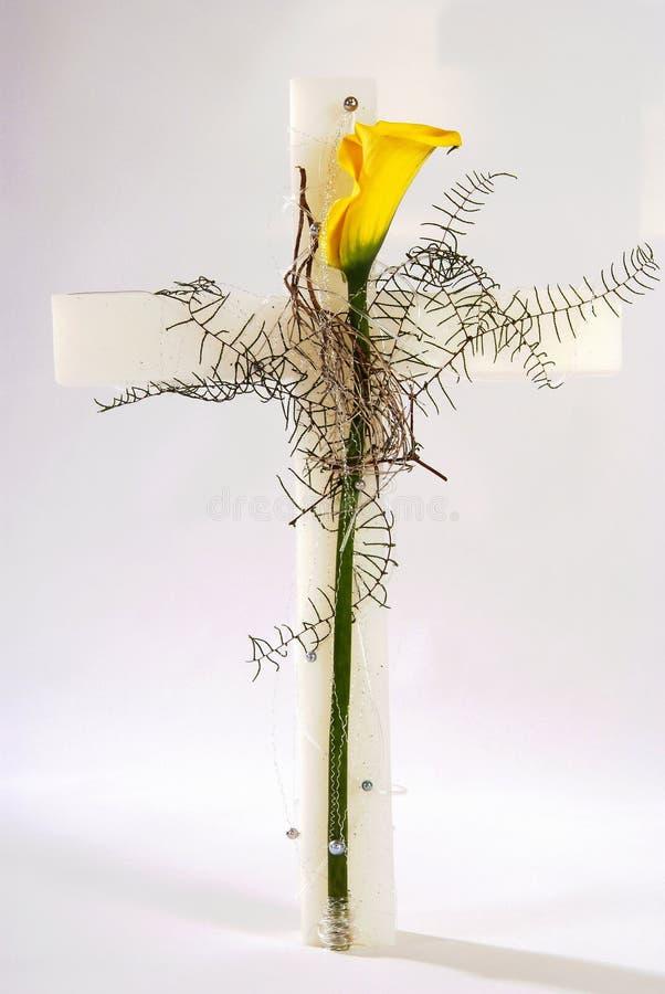 крест украсил стоковые фотографии rf