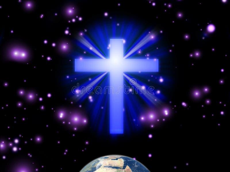 Крест иллюстрация штока