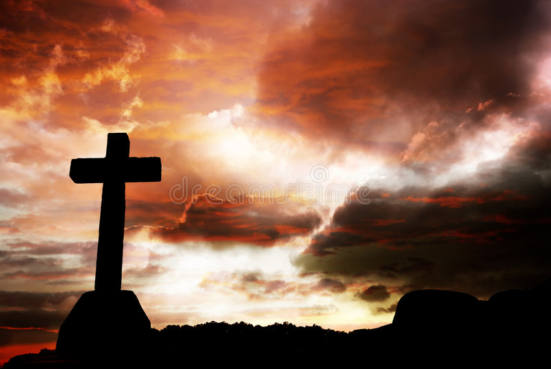 крест стоковое фото