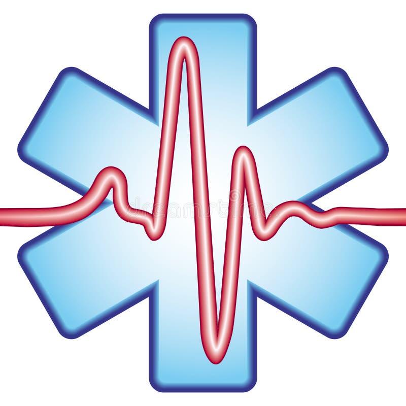 крест cardiogram бесплатная иллюстрация
