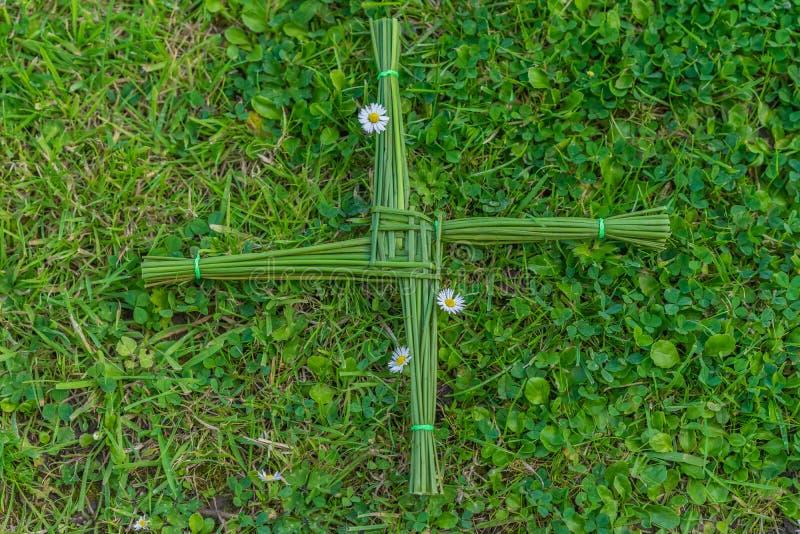 Крест St Brigid стоковые фотографии rf