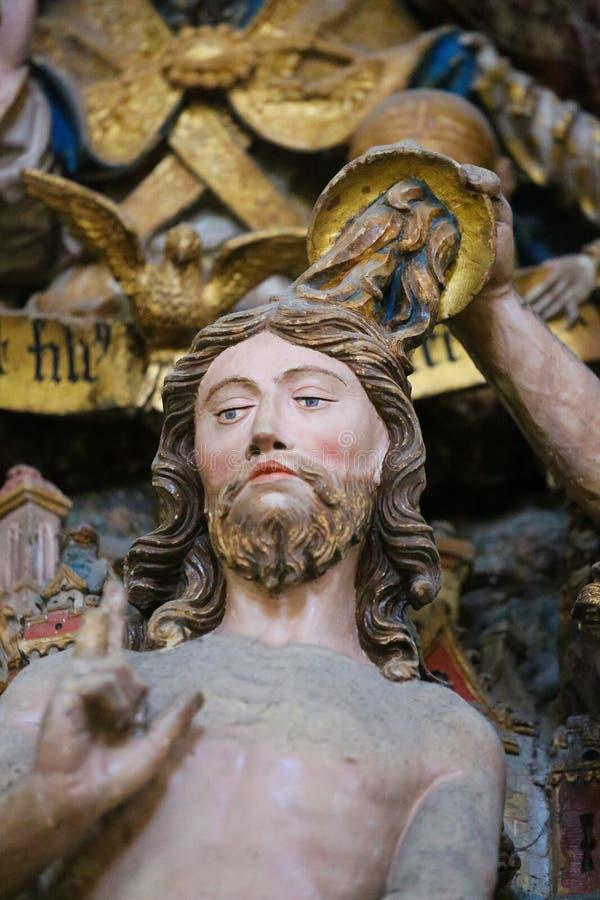 Крещение Иисуса стоковые изображения