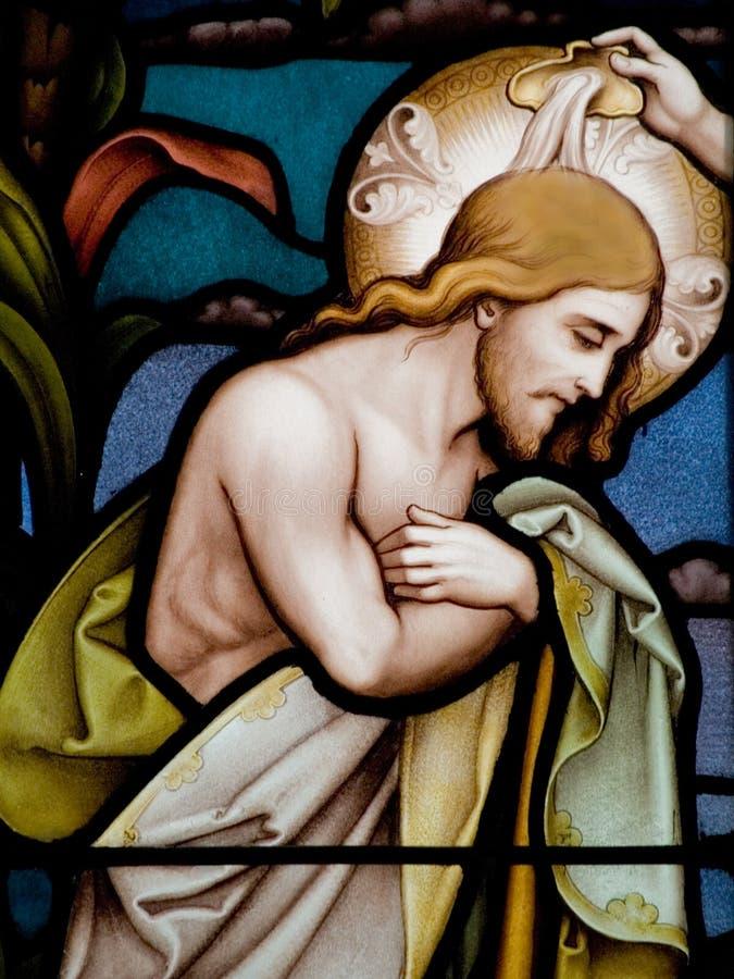 крещение стоковое изображение