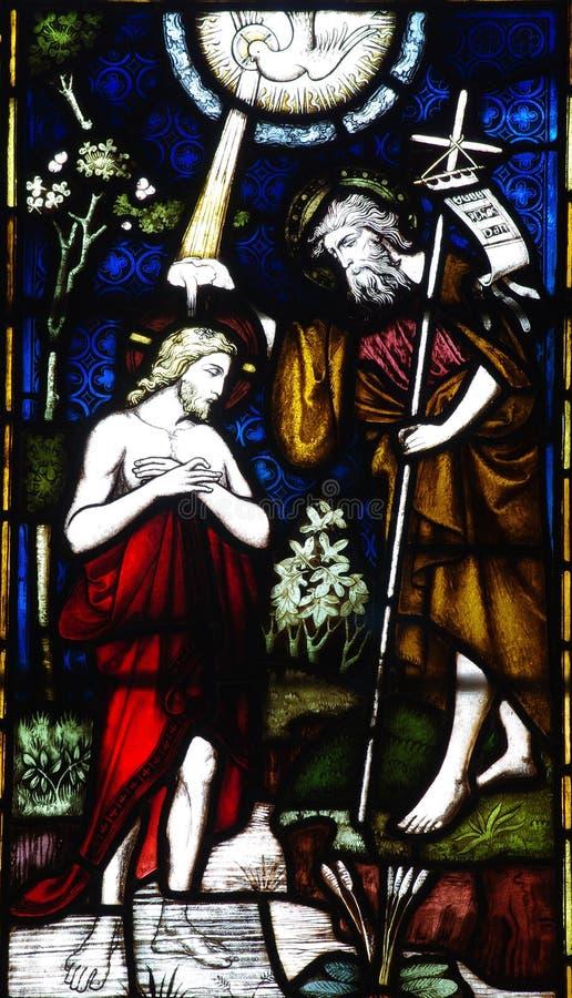 крещение jesus стоковые фото