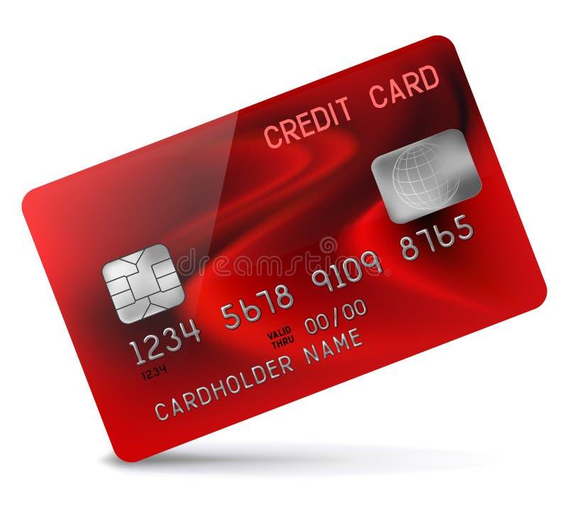 Download Кредитная карточка иллюстрация вектора. иллюстрации насчитывающей banister - 37930784