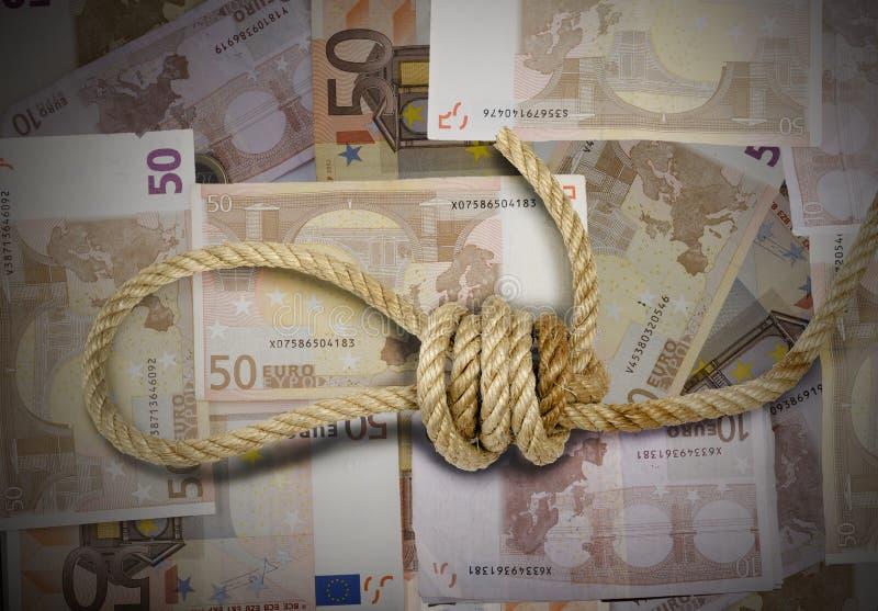Кризис евро стоковая фотография rf