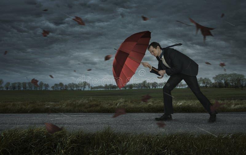 Кризис, концепция проблем стоковая фотография