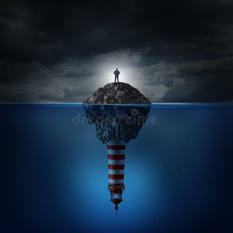 Кризис направления бесплатная иллюстрация