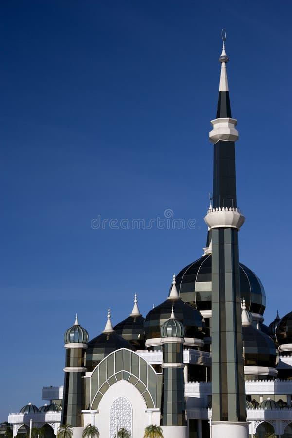 Кристаллическая мечеть стоковые изображения rf