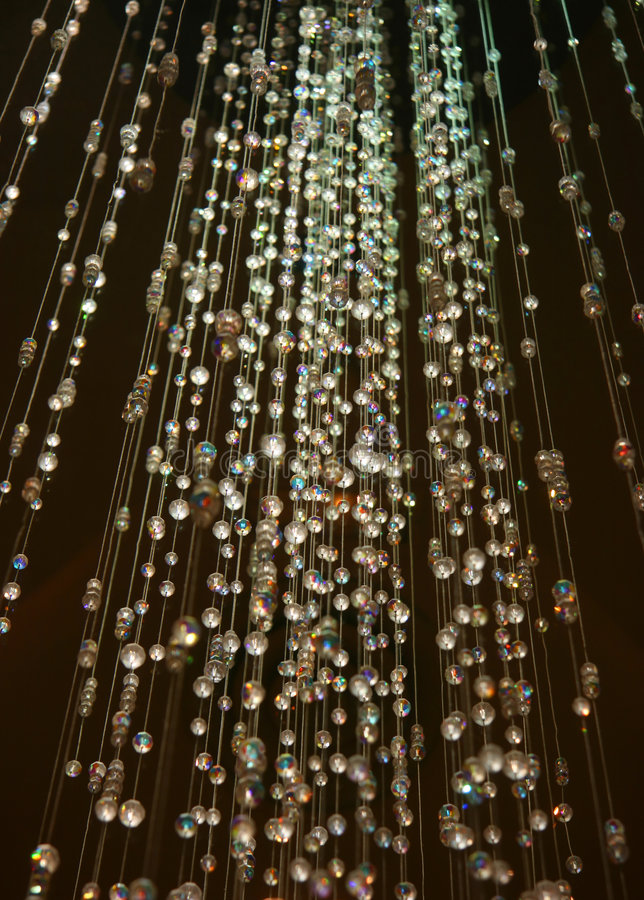 кристаллический ливень стоковые изображения