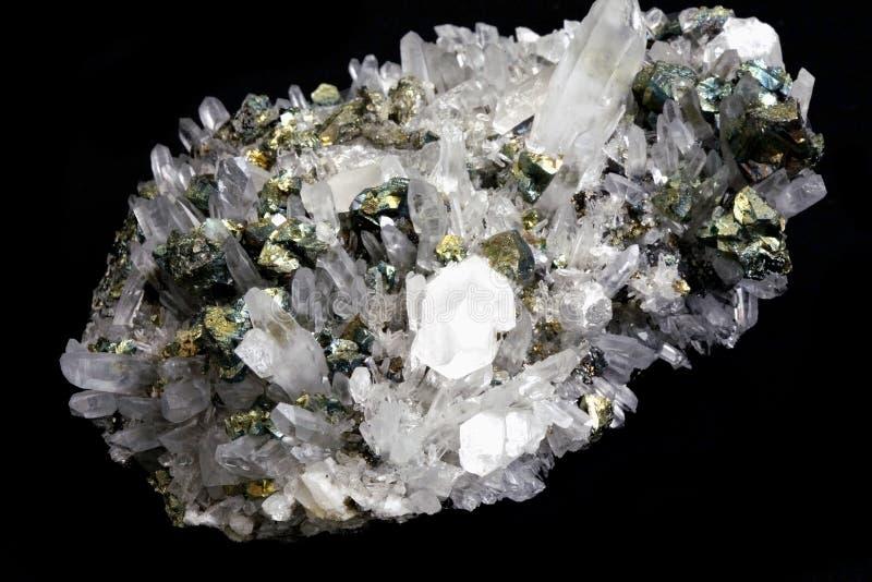 кристаллический утес стоковые изображения rf
