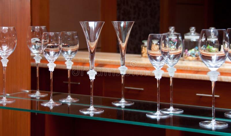 кристаллическое стекло стоковое фото rf