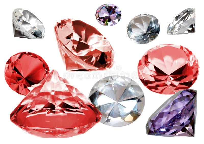 кристаллы стоковые фото