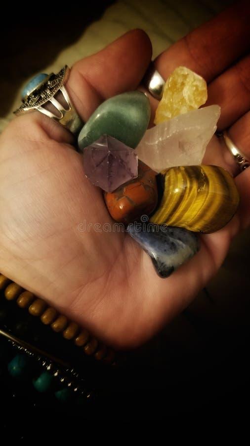 Кристаллы Chakra стоковые фото